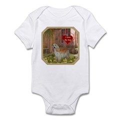 Cocker Spaniel Infant Bodysuit