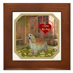 Cocker Spaniel Framed Tile