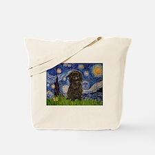 Starry Night / Affenpinscher Tote Bag