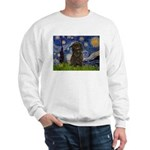 Starry Night / Affenpinscher Sweatshirt