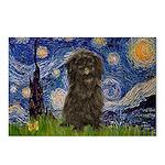 Starry Night / Affenpinscher Postcards (Package of