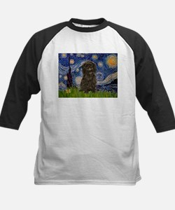 Starry Night / Affenpinscher Tee
