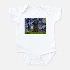Starry Night / Affenpinscher Infant Bodysuit