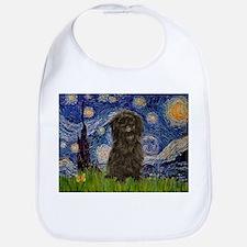 Starry Night / Affenpinscher Bib