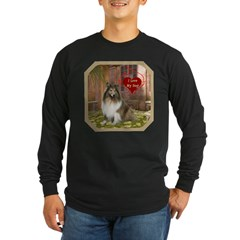 Collie Long Sleeve Dark T-Shirt
