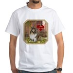 Collie White T-Shirt