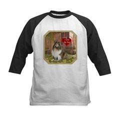 Collie Kids Baseball Jersey