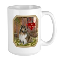 Collie Large Mug