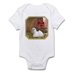Maltese Infant Bodysuit