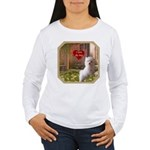 Maltese Puppy Women's Long Sleeve T-Shirt