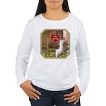 Maltese Puppy Women's Long Sleeve T-Shirt