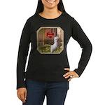 Maltese Puppy Women's Long Sleeve Dark T-Shirt