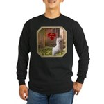 Maltese Puppy Long Sleeve Dark T-Shirt