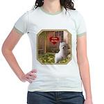 Maltese Puppy Jr. Ringer T-Shirt