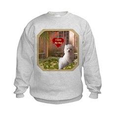 Maltese Puppy Sweatshirt
