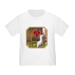 Maltese Puppy Toddler T-Shirt