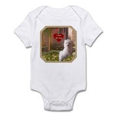 Maltese Puppy Infant Bodysuit