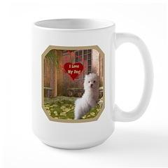 Maltese Puppy Mug