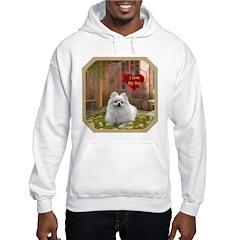 Pomeranian Hooded Sweatshirt