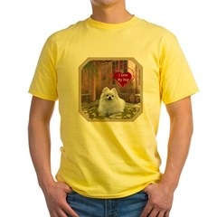 Pomeranian Yellow T-Shirt