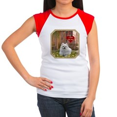 Pomeranian Women's Cap Sleeve T-Shirt