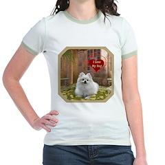 Pomeranian Jr. Ringer T-Shirt
