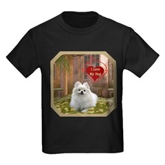 Pomeranian Kids Dark T-Shirt