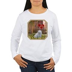 Pomeranian Puppy Women's Long Sleeve T-Shirt