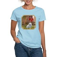 Pomeranian Puppy Women's Light T-Shirt