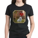 Pomeranian Puppy Women's Dark T-Shirt