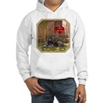 Poodle Hooded Sweatshirt