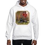Poodle Hooded Sweatshirt