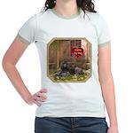Poodle Jr. Ringer T-Shirt