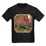 Poodle Kids Dark T-Shirt