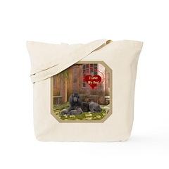 Poodle Tote Bag