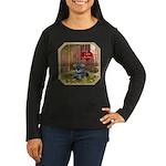 Schnauzer #1 Women's Long Sleeve Dark T-Shirt