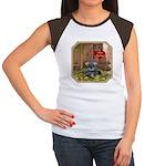 Schnauzer #1 Women's Cap Sleeve T-Shirt