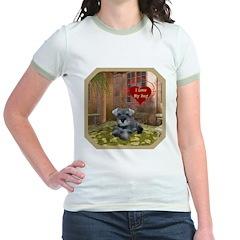 Schnauzer #1 Jr. Ringer T-Shirt