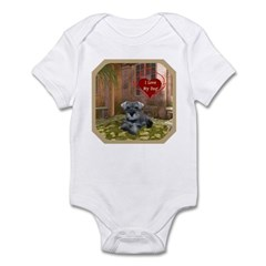 Schnauzer #1 Infant Bodysuit