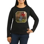 Schnauzer #2 Women's Long Sleeve Dark T-Shirt