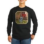 Schnauzer #2 Long Sleeve Dark T-Shirt