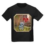 Schnauzer #2 Kids Dark T-Shirt
