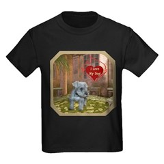 Schnauzer #2 Kids Dark T-Shirt