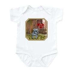 Schnauzer #2 Infant Bodysuit