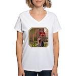Yorkshire Women's V-Neck T-Shirt