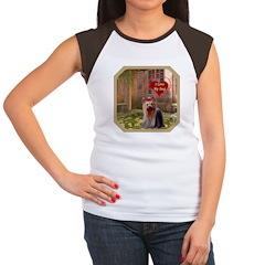 Yorkshire Women's Cap Sleeve T-Shirt