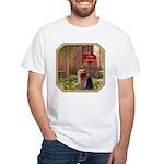 Yorkshire White T-Shirt
