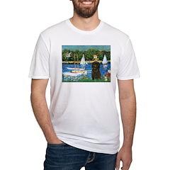 Sailboats / Affenpinscher Shirt