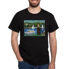 Sailboats / Affenpinscher T-Shirt
