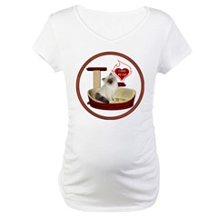 Cat #1 Maternity T-Shirt